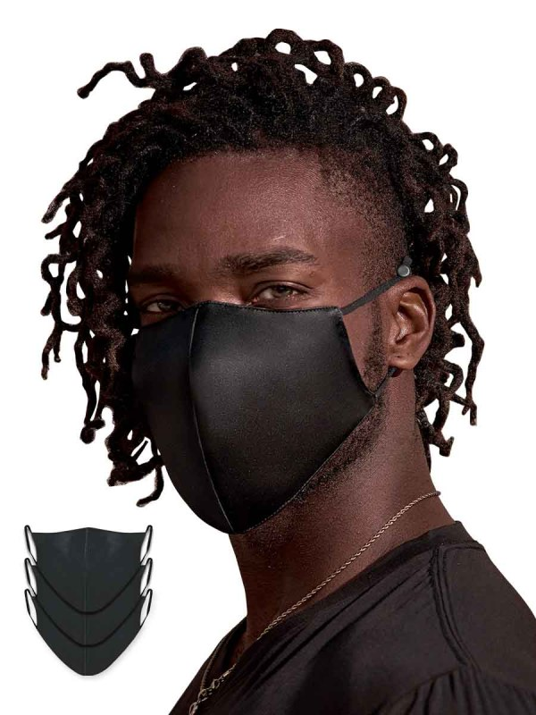 black silk masks