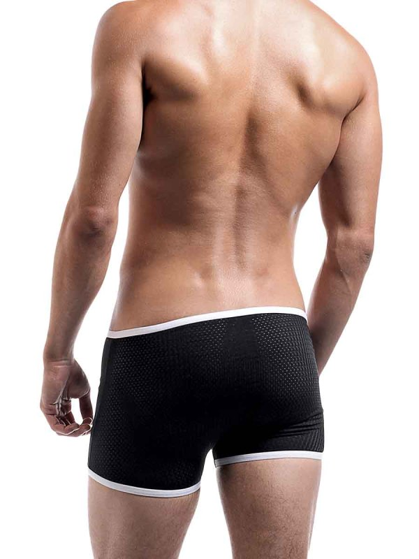 Fly Away Snap Pouch Short Black