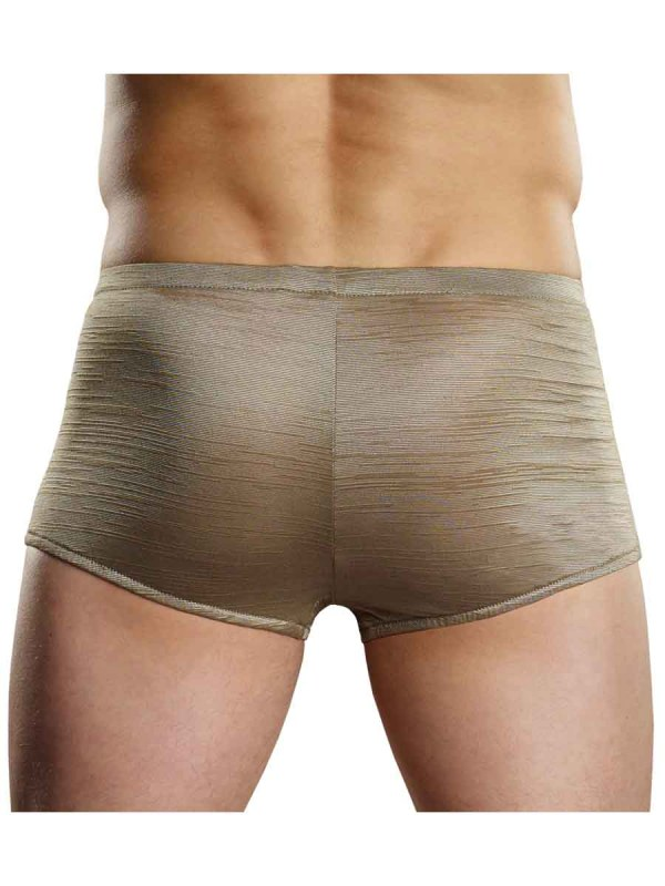 Rayon Swag Pouch Short Tan