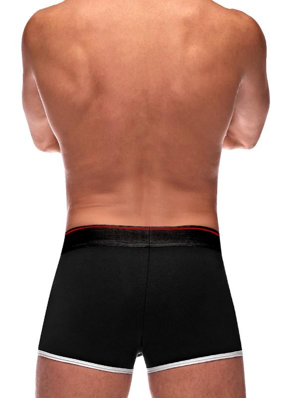 back of retro sport short