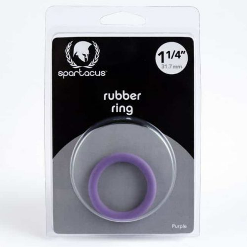 1 1/4IN SOFT C RING PURPLE