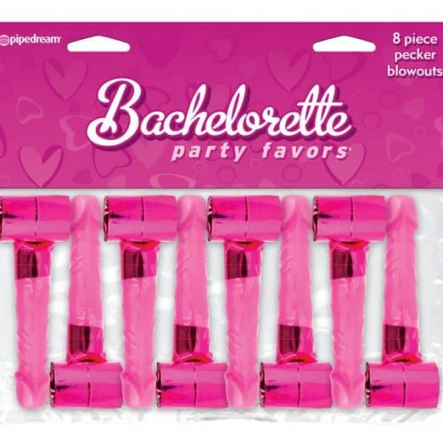 BACHELORETTE 8PC DICKY HORN BLOWERS