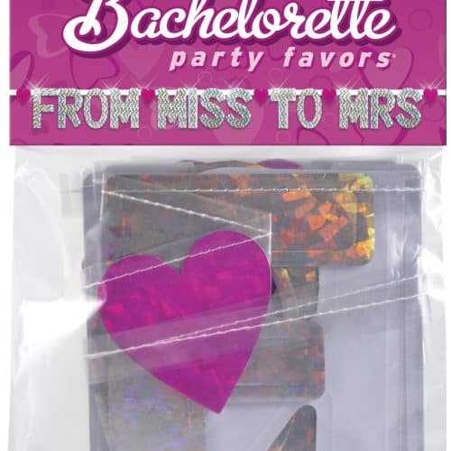 BACHELORETTE BANNER FROM MISS TO MRS