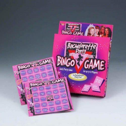 BACHELORETTE PARTY BINGO GAME