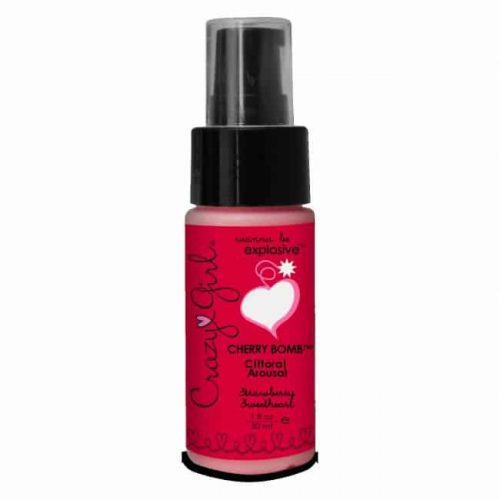 CHERRY BOMB CLITORAL AROUSAL STRAWBERRY 1 OZ