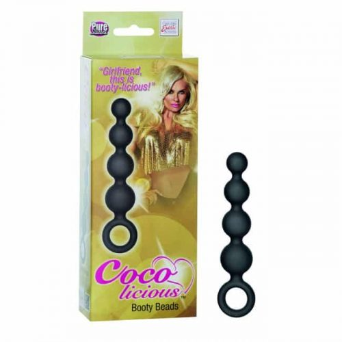COCO LICIOUS BOOTY BEADS BLACK