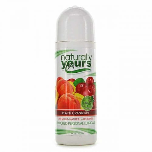 (D) NATURALLY YOURS PEACH CRANBERRY 4 OZ