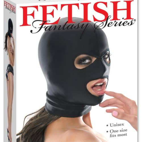 FETISH FANTASY SPANDEX 3 HOLE HOOD
