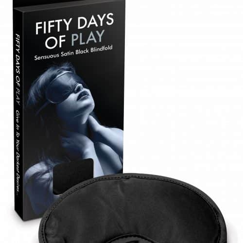 FIFTY DAYS OF PLAY BLINDFOLD BLACK