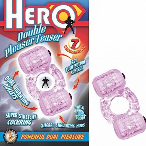 HERO DOUBLE PLEASER TEASER PURPLE