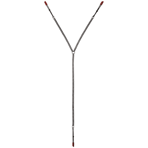 KINK PINCH NIPPLE & CLIT TWEEZER CLIPS BLACK