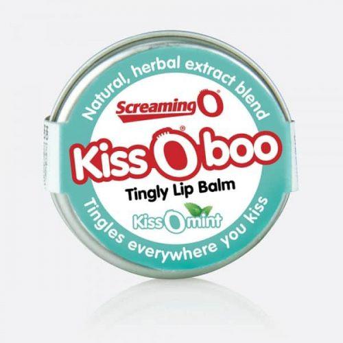 KISS O BOO PEPPERMINT TINGLY LIP BALM