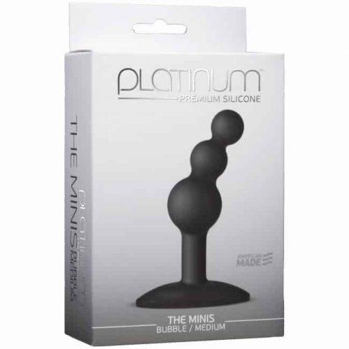 PLATINUM MINIS BUBBLE MEDIUM BLACK