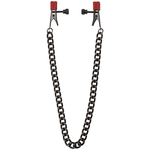 (WD) KINK CHAIN NIPPLE CLIPS
