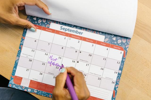 Brief der Schulleitung und wichtige Termine im Schuljahr vom 09.09.21