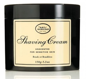 Art of Shaving Unscented Shave Cream