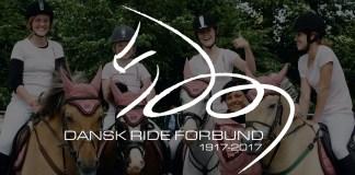 Dansk Ride Forbund 100 år