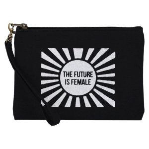 future is female wristlet pouch