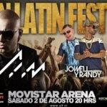 Evento: Wisin, Jowell & Randy Y J Alvarez @ Urban Latin Fest (Santiago, Chile)