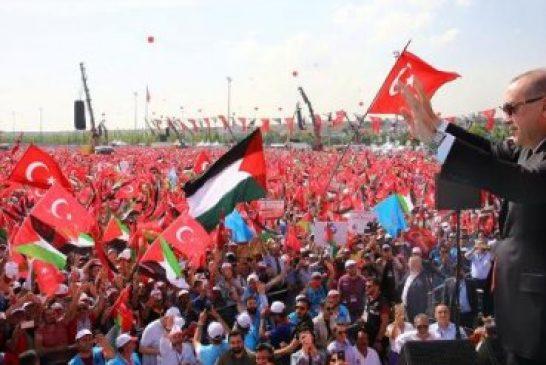 """Turquía promueve manifestaciones pro-Palestina y acusa a Israel de """"imitar a Hitler"""""""