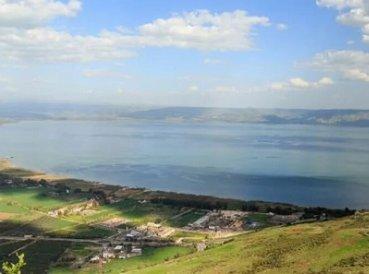 Israel ora por lluvias y Mar de Galilea es revitalizado