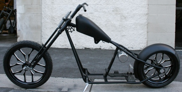 N140 Real West Coast Choppers 4 Up Cfl Rolling Chassis