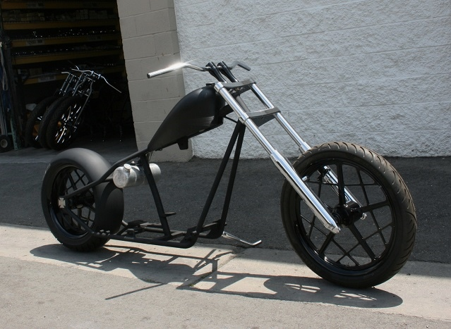 N374 REAL WEST COAST CHOPPERS CFL 200 TIRE 4UP ROLLING CHASSIS