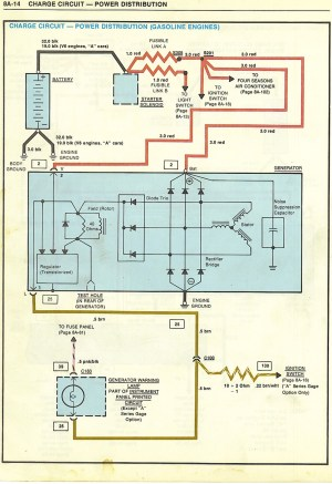 WTF Wires to StarterAlternator | GBodyForum  '78'88
