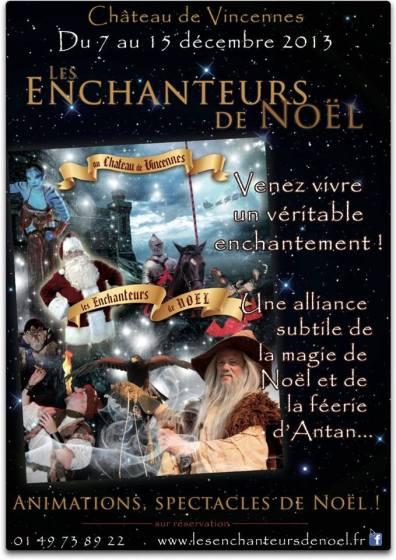 les enchanteurs de noel 2013