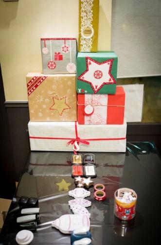 atelier cadeaux de Noël