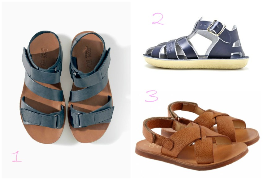selection sandales garcon