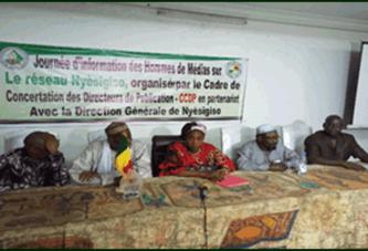 CCDP/Nyèsigiso : Les hommes de médias informés des atouts du micro-finance