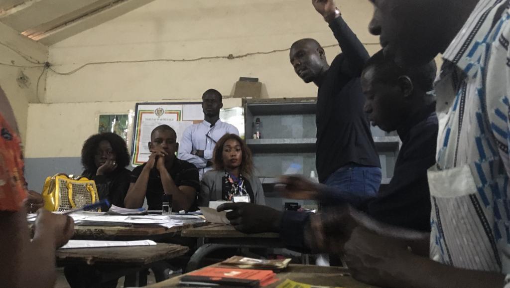 Sénégal: les premières tendances de la présidentielle