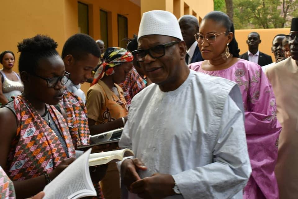 Rentrée littéraire du Mali 2019 : La cérémonie d'ouverture rehaussée par la présence d'IBK