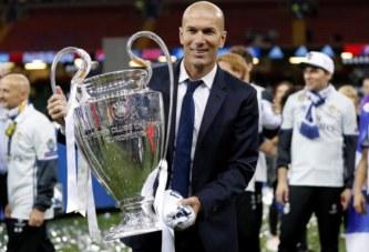 Football: Zinédine Zidane redevient entraîneur du Real Madrid