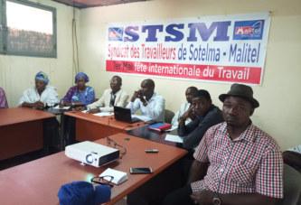 Célébration du 1er Mai 2019 : Le Syndicat des travailleurs de Sotelma-Malitel rencontre la presse
