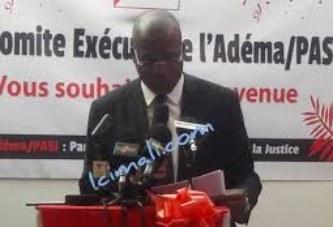 Celebration des 27 ans de l'Adema PASJ: Le Pr Tiemoko appelle à l'unité
