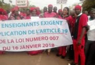 Grève des enseignants : Un préavis de 20 jours déposé sur la table du Gouvernement