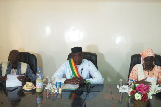 6e édition du déjeuner de presse : Le maire de la CV Amadou Ouattara fait les points du dernier semestre
