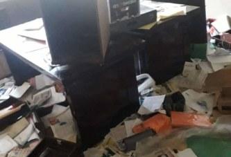 Au soir de la mutinerie : L'ATI victime de vandalisme, de saccage et de pillage