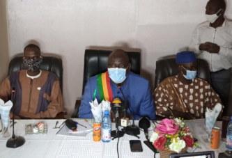 Assainissement de la CV : Le maire Amadou Ouattara sollicite l'accompagnement des populations