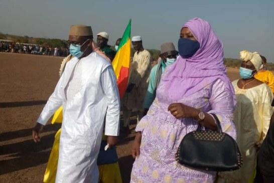 Mamadou Naman Keita, lors du lancement de sa coupe à Karan : « Le développement du pays commence par celui de nos terroirs »