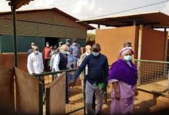 Prévention de la Maladie à virus Ebola : Le ministre de la Santé s'assure des mesures de prévention au cordon frontalier de Kourémalé