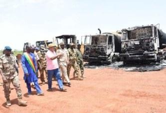 Route Kwala-Mourdiah-Nara : Une délégation gouvernementale s'imprègne des dommages sur le chantier