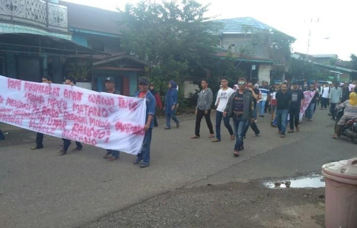 Demonstrasi Masyarakat Adat Matano