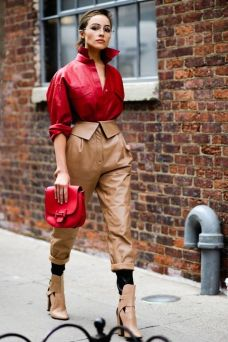New York fashion week proljece 2018 street style
