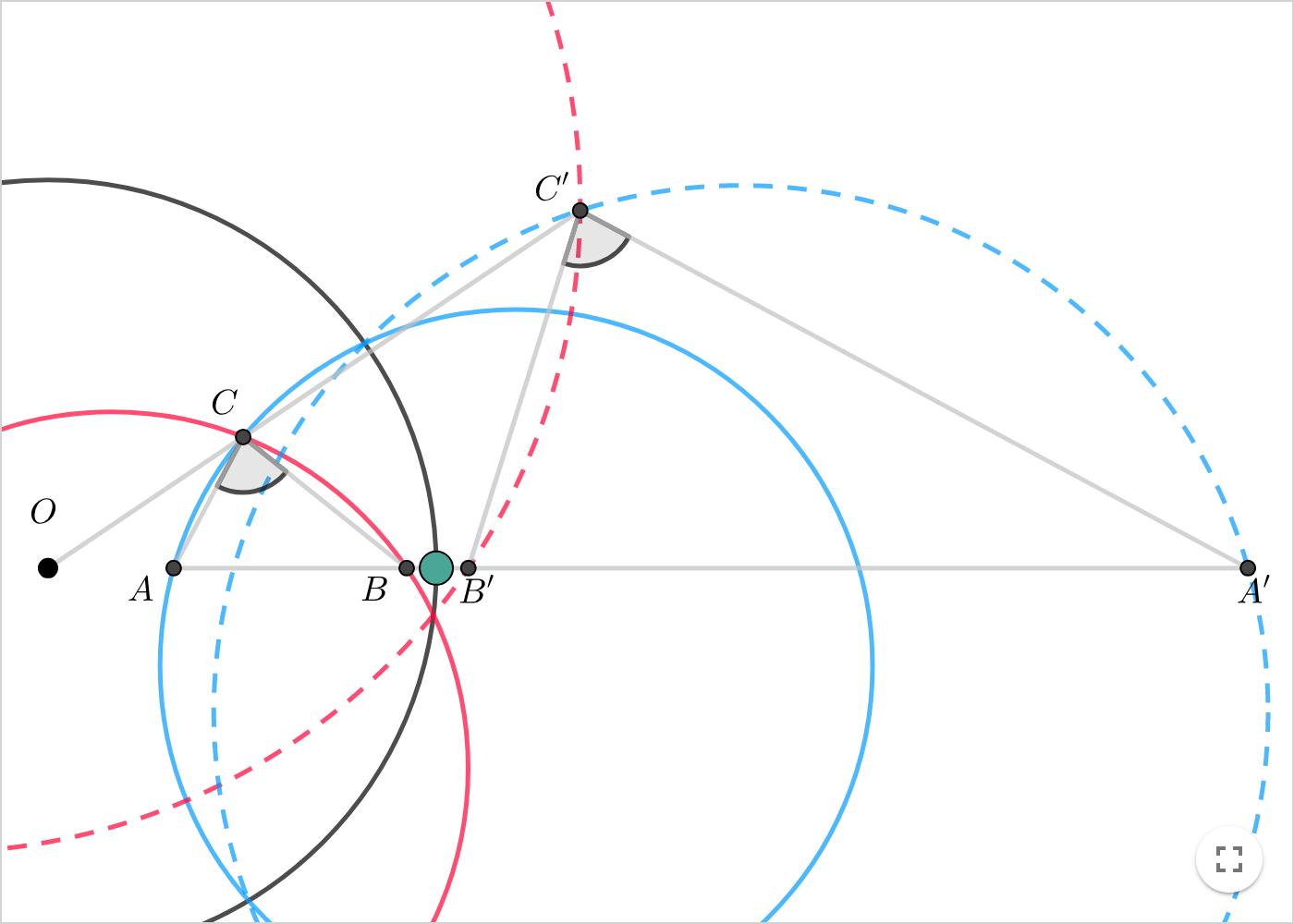 Non Euclidean Geometry Inversion In Circle