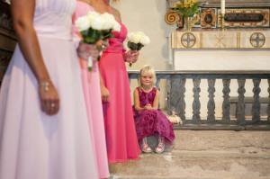 Hanna och Mikael Ogestad bröllop tärna