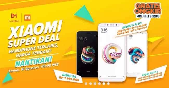 Flash Sale Xiaomi Redmi 5A 16 Agustus 2018