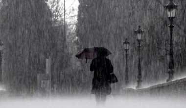 Tanda Awal Hujan Badai